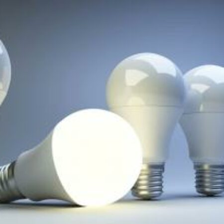 Defektes LED-Leuchtmittel