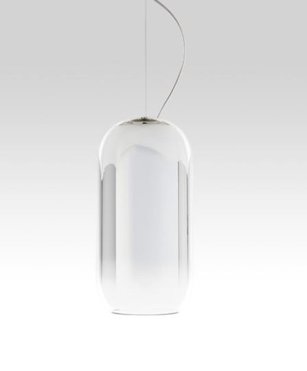 Artemide Pendelleuchte Gople S Silber 1405010A
