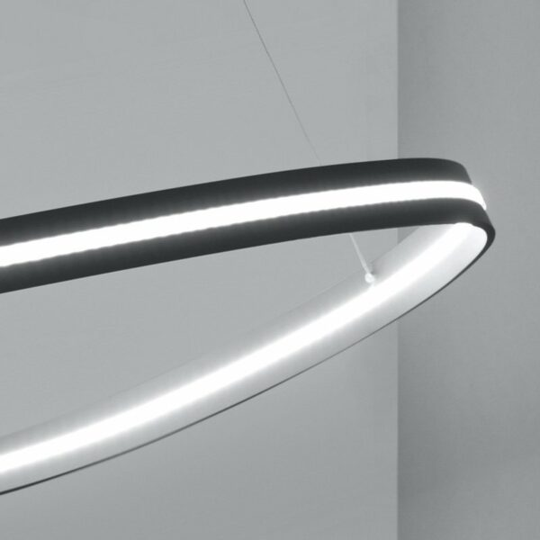Escale Pendelleuchte Infinity Anthrazit Detail