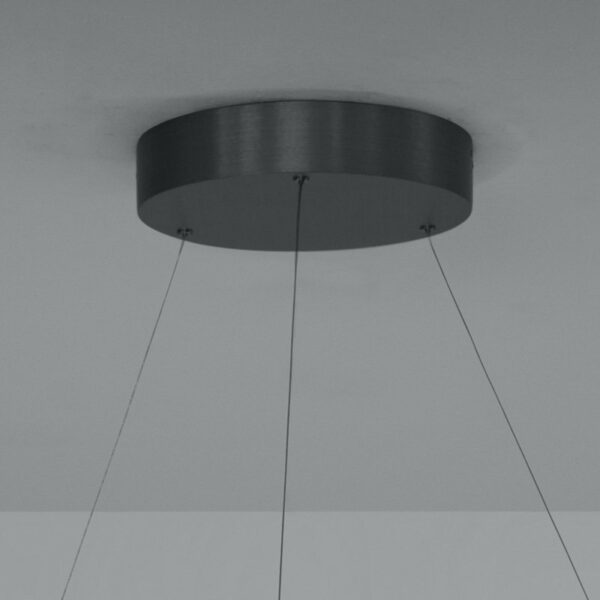 Escale Pendelleuchte Infinity Anthrazit Detail Baldachin
