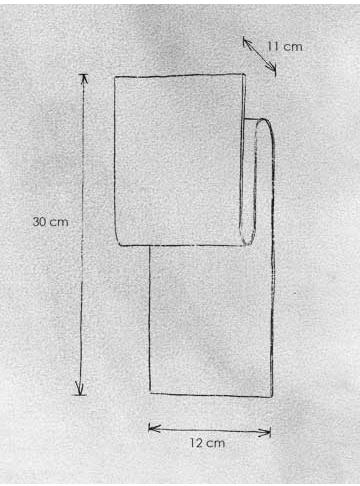 Escale Wandleuchte Fold - Wandleuchten Innenbereich