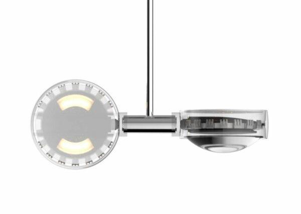 LEDES CLipLED-Modul für Occhio Sento Doppio Beispiel