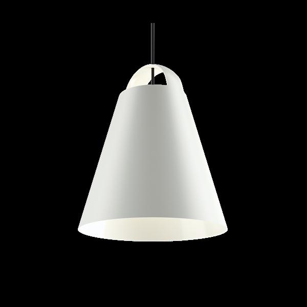 Louis Poulsen Pendelleuchte Above Weiß Durchmesser 40 cm