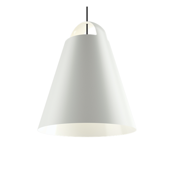 Louis Poulsen Pendelleuchte Above Weiß Durchmesser 55 cm
