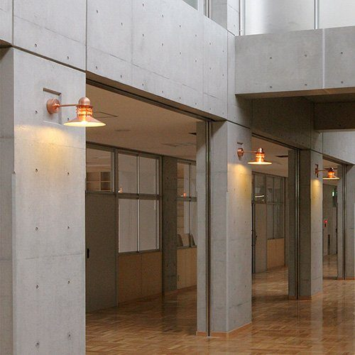 Louis Poulsen Wandaußenleuchte Nyhavn Kupfer matt