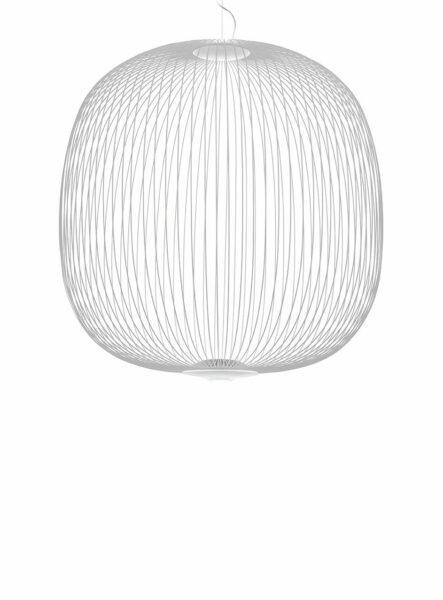 Foscarini Pendelleuchte Spokes 2 Large LED Weiß