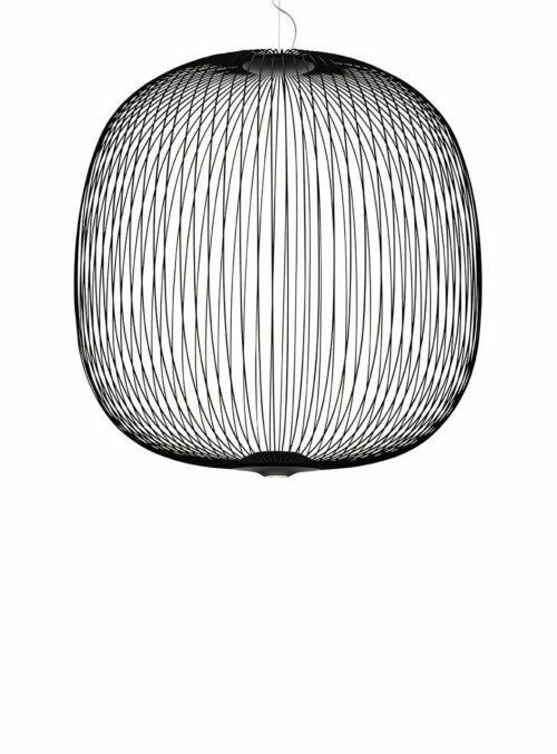 Foscarini Pendelleuchte Spokes 2 Large LED Schwarz