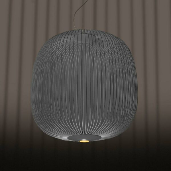 Foscarini Pendelleuchte Spokes 2 LED Graphit 1
