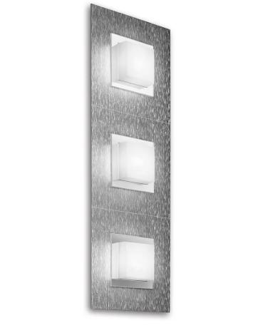 Grossmann Wand- und Deckenleuchte Basic 3-flammig Aluminium 73-790-072