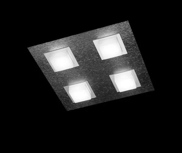 Grossmann Wand- und Deckenleuchte Basic 4-flammig Anthrazit 74-790-019