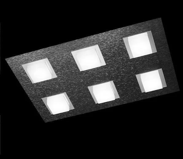 Grossmann Wand- und Deckenleuchte Basic 6-flammig Anthrazit 76-790-019