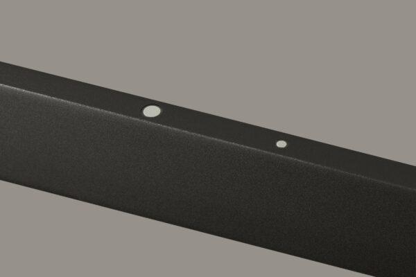 Liin Pendelleuchte Nalu Raven Grey Satin Detail Sensor