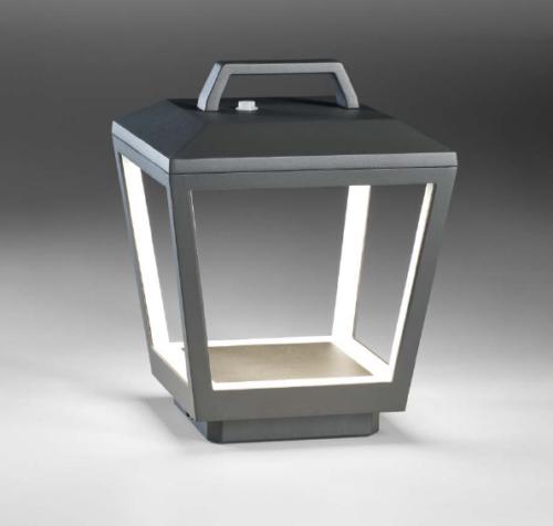 Lupia Licht Bodenaußenleuchte Matrix Akku LED 4161-1-57