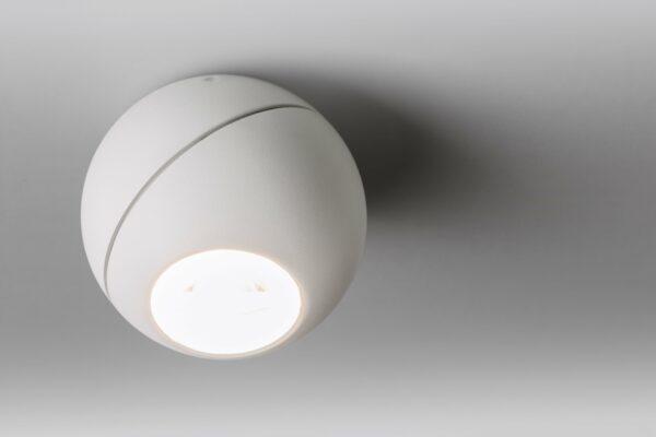 Lupia Licht Deckenleuchte Globe Weiß