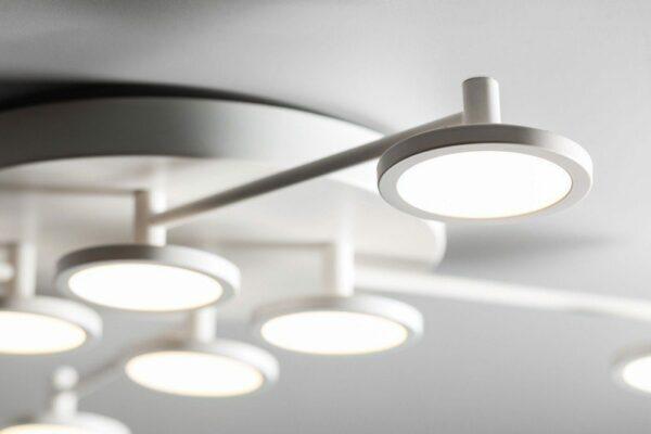 Lupia Licht Deckenleuchte Pook 8-flammig Detail