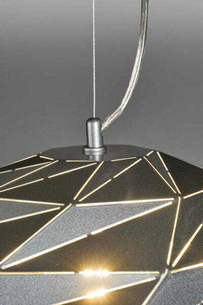 Lupia Licht Pendelleuchte Dome Schwarz Detail