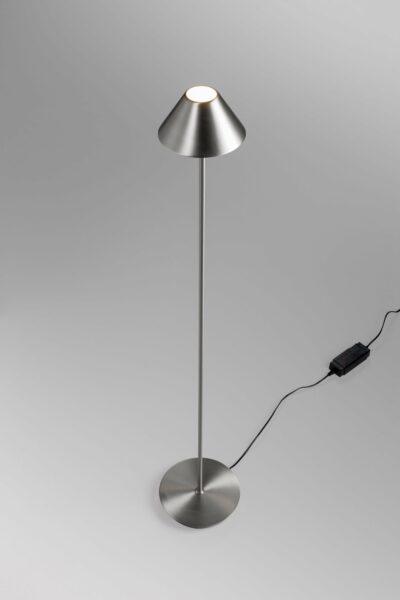 Lupia Licht Stehleuchte Petite F Nickel matt