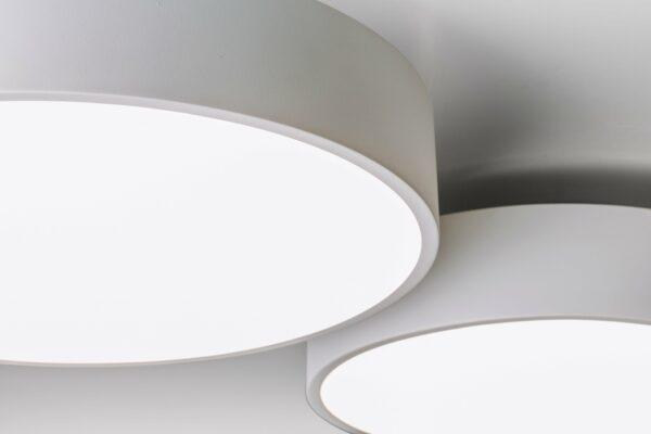 Lupia Licht Wand- und Deckenleuchte Cara Weiß M+L
