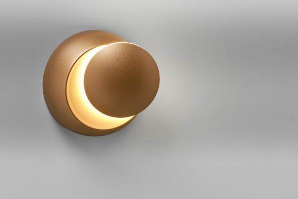 Lupia Licht Wand- und Deckenleuchte Moon Gold