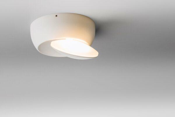 Lupia Licht Wand- und Deckenleuchte Moon Weiß