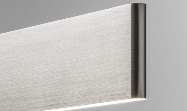 Lupia Licht Wandleuchte Justus W Aluminium (Farbbeispiel)