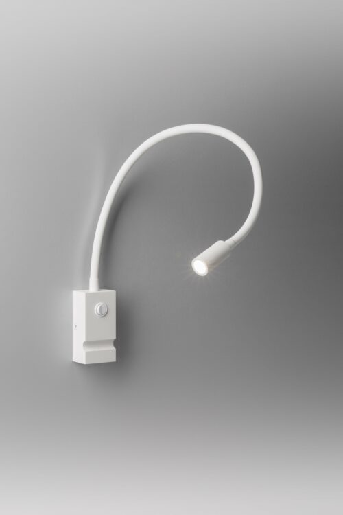 Lupia Licht Wandleuchte Pipe Weiß