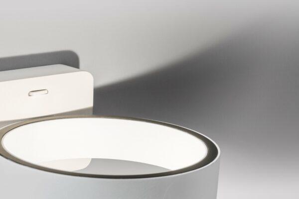 Lupia Licht Wandleuchte Sphere Weiß Detail