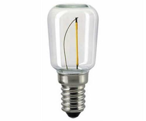 Sigor 0,5 W LED-Filament Röhre S29 Klar E14 2700 K