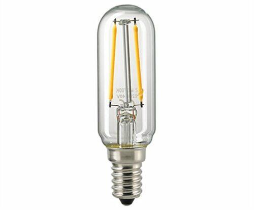 Sigor 2,5 W LED-Filament Röhre T25 Klar E14 2700 K