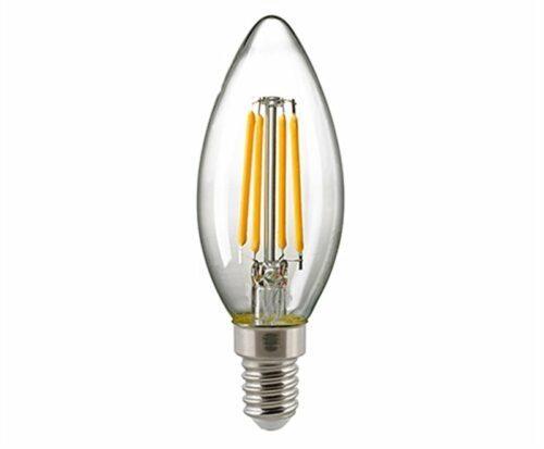 Sigor 2,8 W LED-Filament Kerze klar E14
