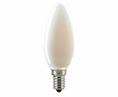 Sigor 4,5 W LED-Filament Kerze Matt E14 Dim