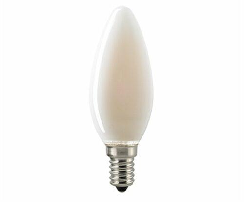 Sigor 4,5 W LED-Filament Kerze Matt E14 Dim