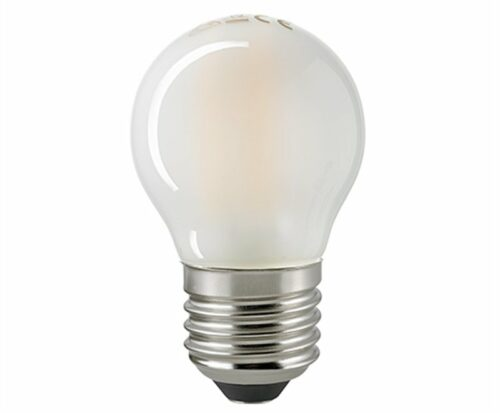 Sigor 4,5 W LED-Filament Kugel Matt E27 2700 K Dim 6135601