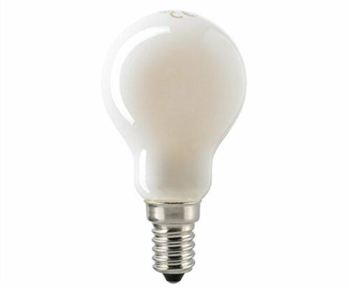Sigor 4,5 W LED-Filament Kugel Opal E14 2700 K Dim