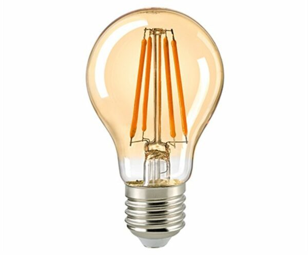 Sigor 4,5 W LED-Filament Normale Gold E27 Dim