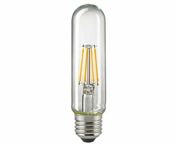Sigor 4,5 W LED-Filament Röhre T32 Klar E14 2700 K Dim
