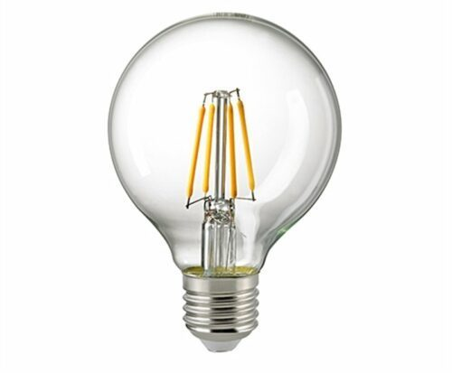 Sigor 4,5W LED-Filament Globe 80mm Klar E27 2700K Dim 6137101
