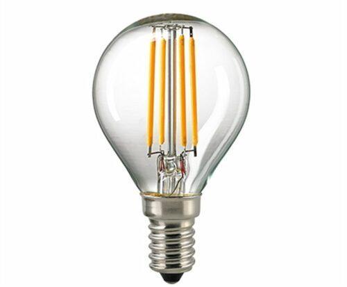 Sigor 5 W LED-Filament Kugel Klar E14 2700 RA95 Dim 6129501
