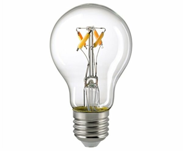 Sigor 5 W LED-Filament Normale Dim to Warm E27 2700–2100 K