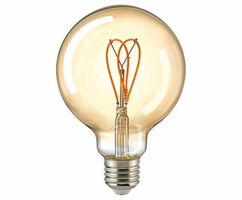 Sigor 5,5W LED CURVED LOOP G95 GOLD E27 2000K DIM