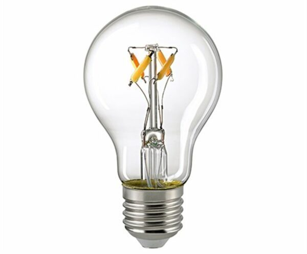 Sigor 6,5 W LED-Filament Normale Dim to Warm E27 2700–2100 K
