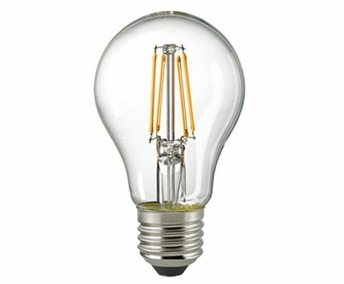 Sigor 6,5 W LED-Filament Normale Klar E27 2700 K 6131401