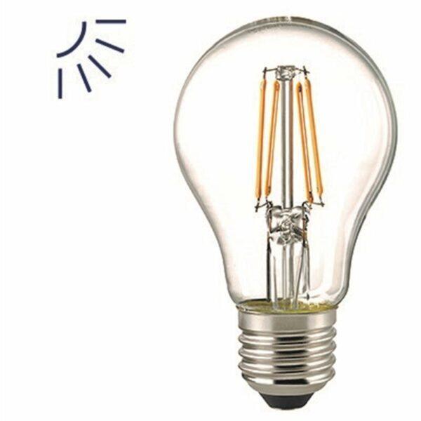 Sigor 6,5 W LED-Filament Normale Klar E27 2700 K Sensor