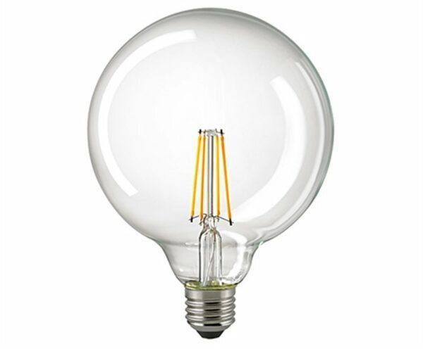 Sigor 7 W LED-Filament Globe 125 mm Klar E27 2700 K Dim 6139401