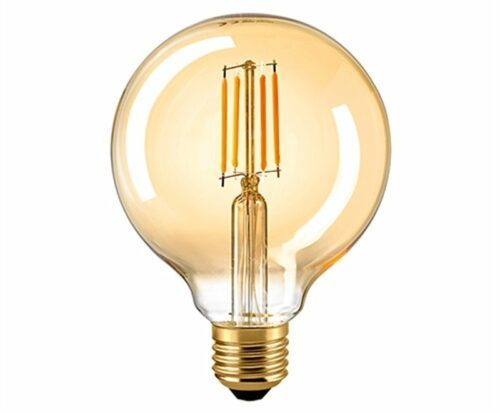 Sigor 7 W LED-Filament Globe 95 mm Gold E27 2400 K Dim 6138901