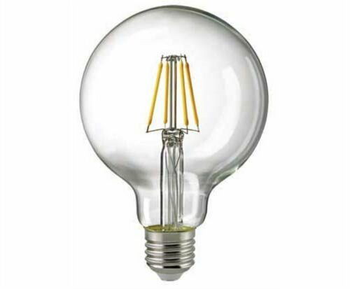 Sigor 7 W LED-Filament Globe 95 mm Klar E27 2700 K Dim 6137701