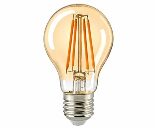 Sigor 7 W LED-Filament Normale Gold E27 Dim