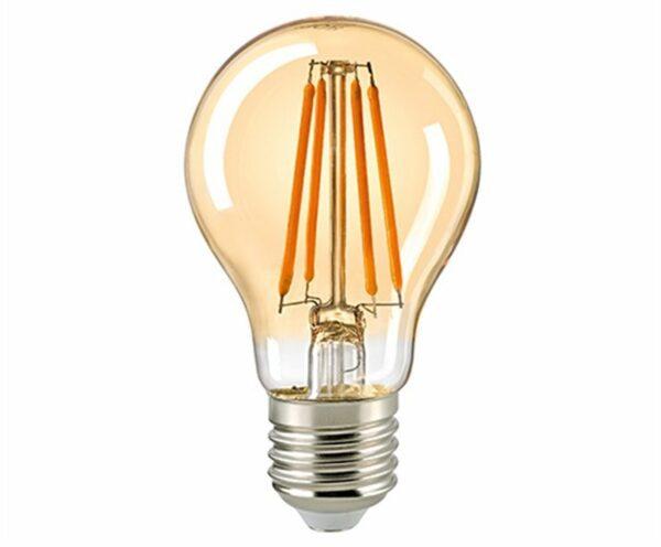 Sigor 7 W LED-Filament Normale Gold E27 Dim