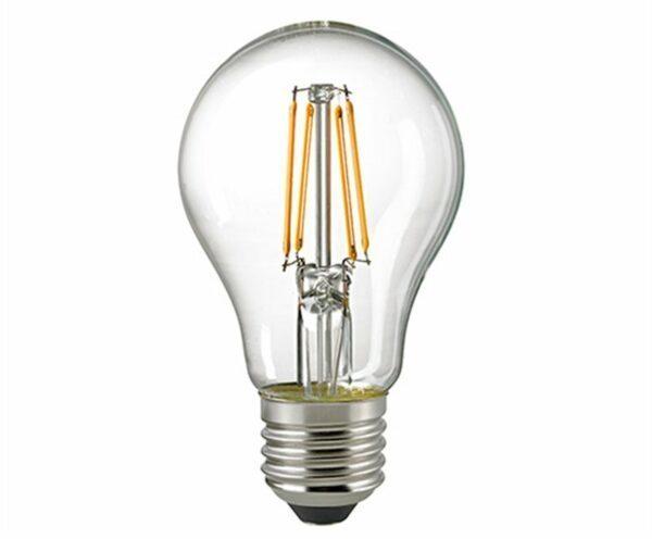 Sigor 8 W LED-Filament Normale Klar E27 2700 K 6143001