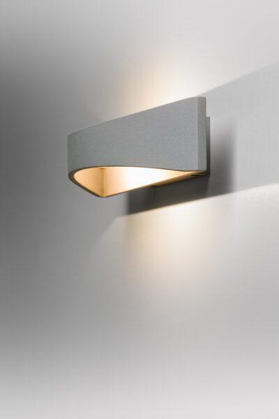 Lupia Licht Wandleuchte Impuls Grau